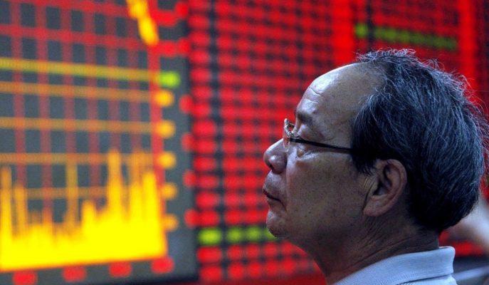 Çin'de İşlem Gören Hisse Senetlerinin %90'ı Taban Fiyatlara Geriledi