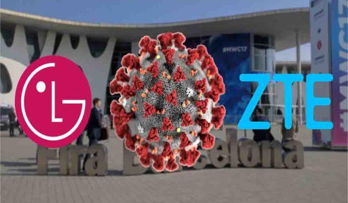 Corona Virüsü Nedeniyle MWC 2020'ye LG ve ZTE Katılmayacağını Açıkladı