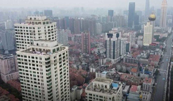 Corona Virüsünün Ortaya Çıktığı Wuhan Kenti Drone ile Görüntülendi