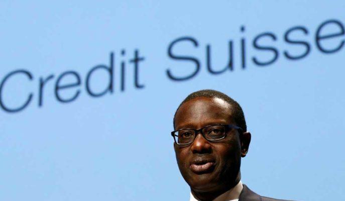 Credit Suisse CEO'su Tidjane Thiam Casusluk Skandalının Ardından Görevden Ayrılıyor