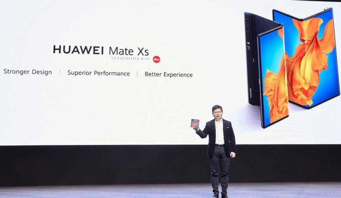Huawei'nin Katlanabilir Telefonu Mate XS'in Ekran ve İşlemcisi Daha Güçlü Olacak