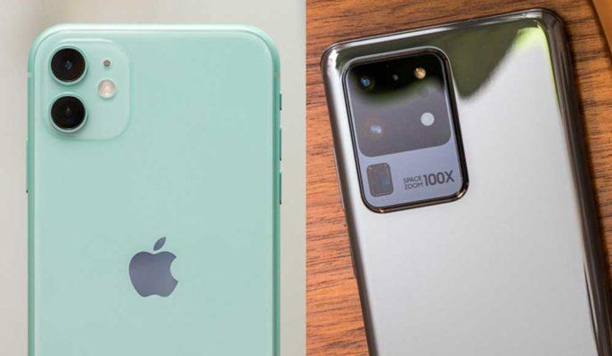 iPhone 11 ve Galaxy S20'nin Kamera Performansları Karşılaştırıldı