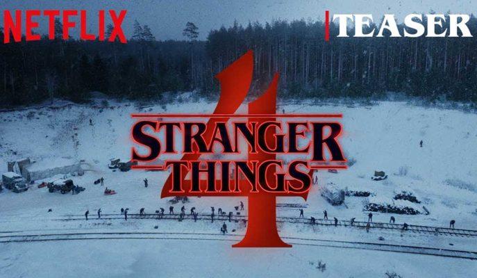 Netflix'in Sevilen Dizisi Stranger Things'in 4. Sezon Teaser'ı Yayınlandı