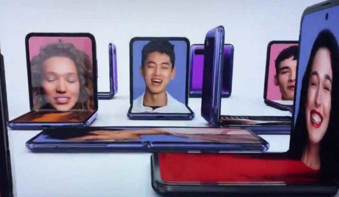 Samsung'un Yeni Katlanabilir Telefonu Galaxy Z Flip, Oscar Ödülleri'nde Gösterildi