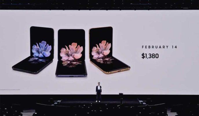 Samsung'un Yeni Katlanabilir Telefonu Galaxy Z Flip'e İlgi Büyük