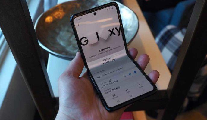 Samsung Katlanabilir Ekran için Geliştirdiği Ultra İnce Cam Teknolojisini Rakipleriyle Paylaşıyor