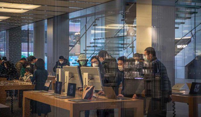Apple, Çin Dışındaki Tüm Mağazalarını 2 Hafta Süreyle Kapatıyor