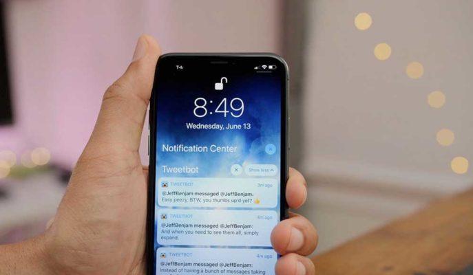 Apple Uygulama Geliştiricilerin Bildirim ile Reklam Göndermesine Şartlı İzin Verecek