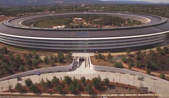 Apple Park Çalışanlarına Corona Virüsü Nedeniyle Evden Çalışmaları Önerildi