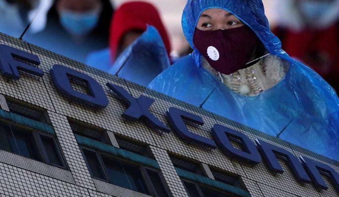 Apple'ın Tedarikçisi Foxconn Üretim Sürecini Normale Döndürüyor