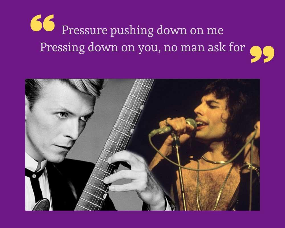 David Bowie ile Under Pressure