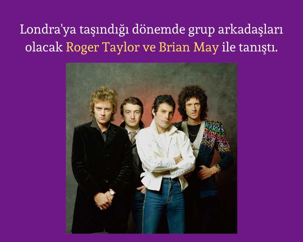 Roger Taylor Brian May Tanıştı