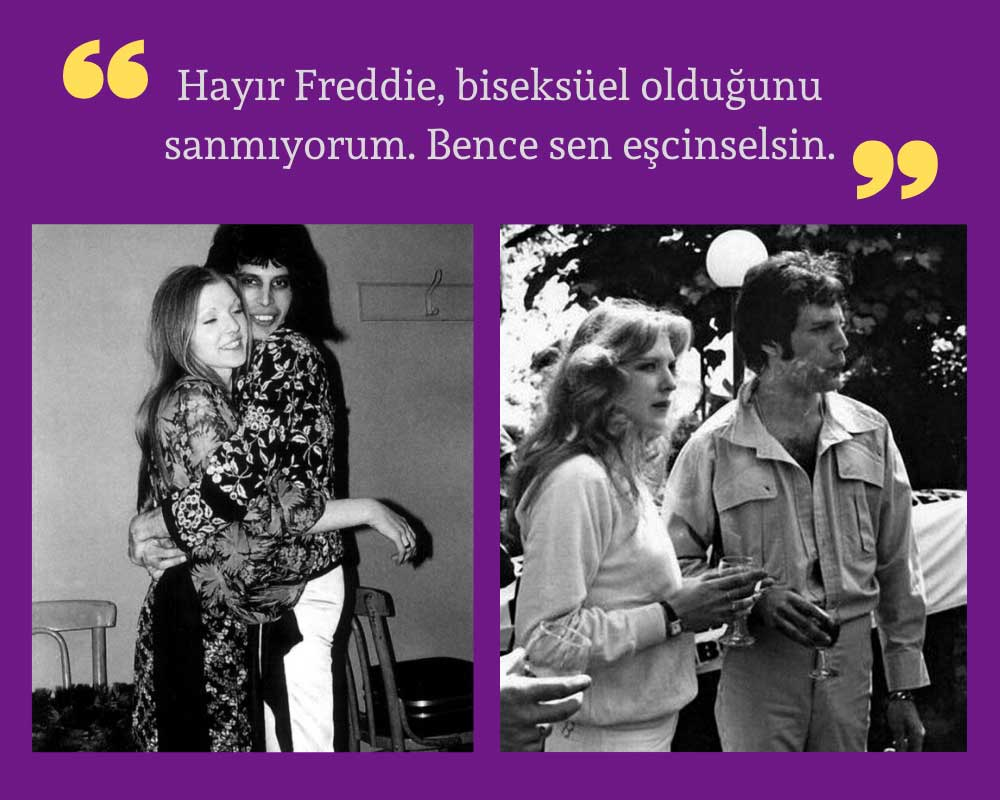 Mary Austin Freddie'ye Eşcinselsin Cevabı