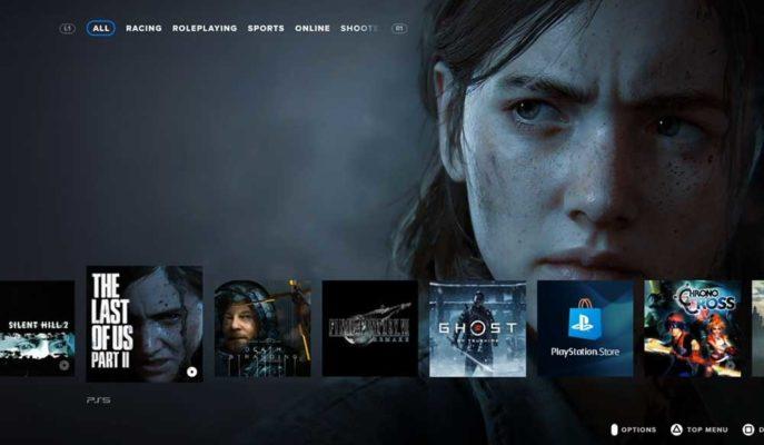 PlayStation 5'in Merak Edilen Arayüzü için Konsept Hazırlandı