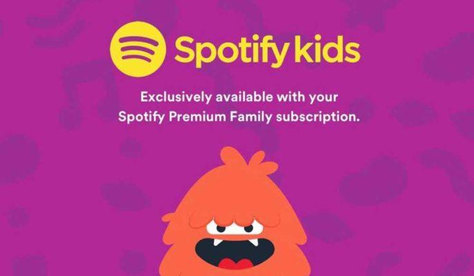 Spotify Çocuklar için Geliştirdiği Uygulamasını Yeni Ülkelere Açtı