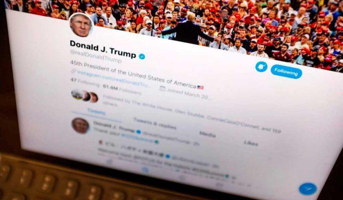 Twitter, Trump'ın Hesabında Yanlış Bilgi İçeren Bir Paylaşımı İşaretledi