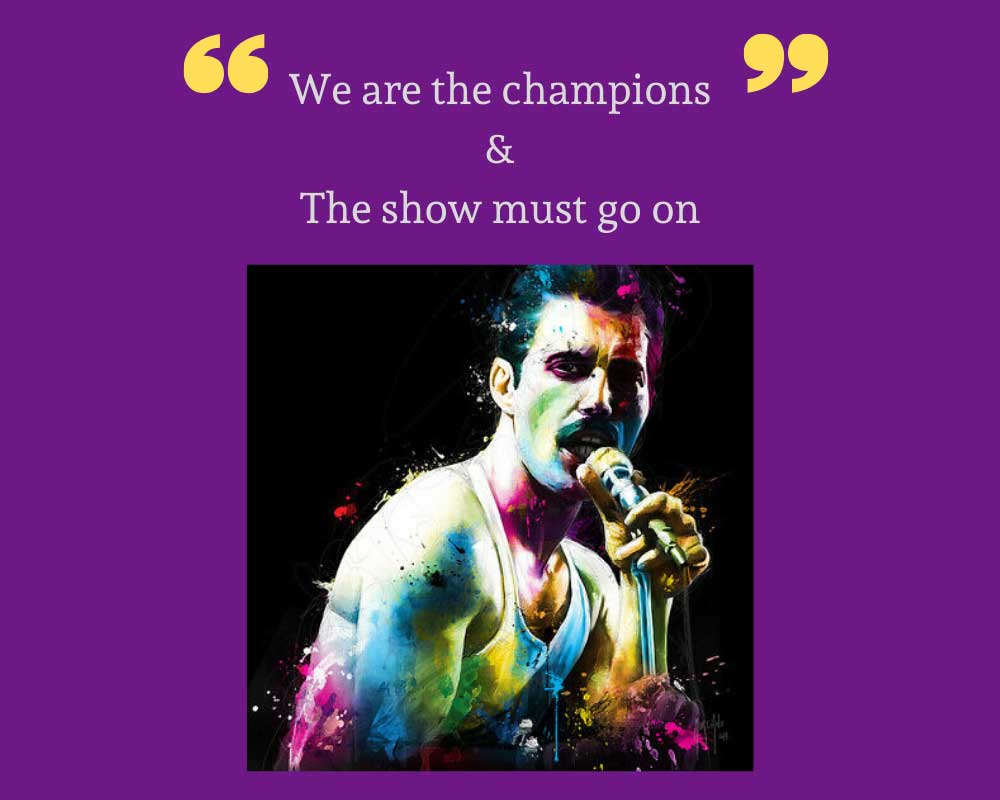 We Are the Champions ve We Will Rock You