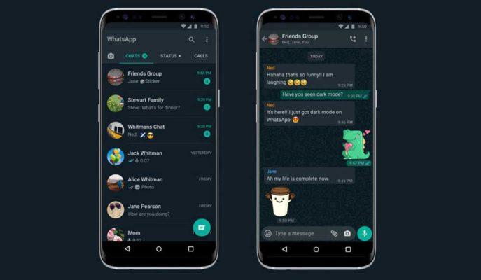 WhatsApp'a Uzun Zamandır Beklenen Karanlık Mod Özelliği Sunuldu