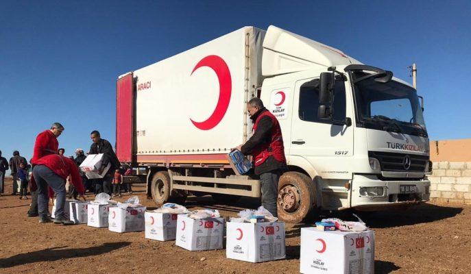 Yıldız Holding Kızılay Aracılığıyla 20 Bin Kişiye Gıda Ürünü Ulaştırdı