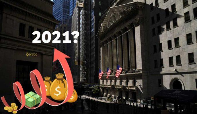 ABD Hisselerinin 2021 Yılının İlk Yarısında Rekor Seviyeleri Görebileceği Söylendi
