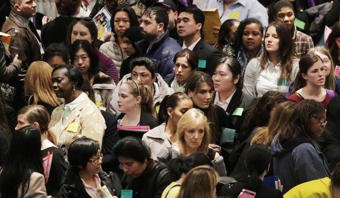 ABD Tarım Dışı İstihdamı 100 Bin Beklentisine Karşılık 701 Bin Azaldı