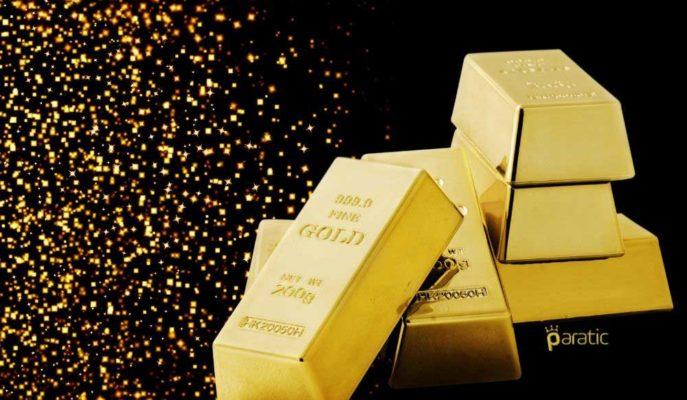 Altın Fiyatları Risk İştahının Artmasıyla %1 Geriledi