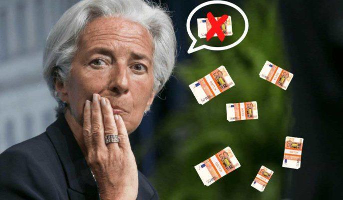 """AMB Başkanı Christine Lagarde """"Helikopter Para""""ya Sıcak Bakmıyor"""