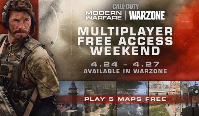 Call of Duty: Modern Warfare'in Multiplayer Modu için Ücretsiz Deneme İmkanı