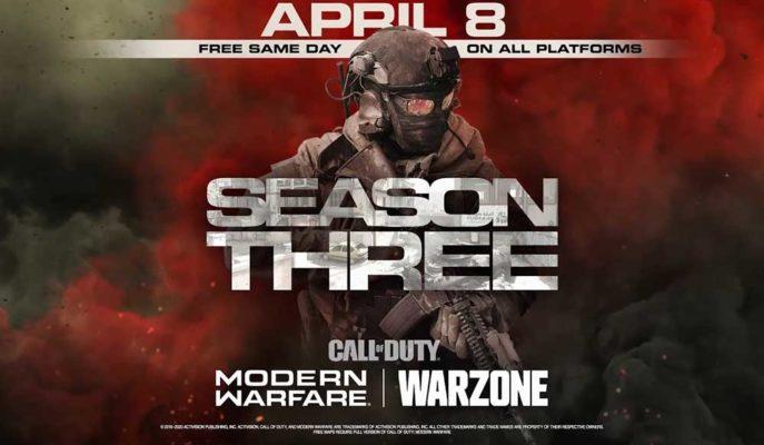 Call of Duty: Modern Warfare ve Warzone için 3. Sezon Heyecanı Başlıyor