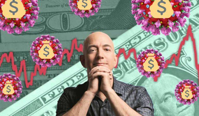 COVID-19 Krizinden Faydalanan Bezos, 3.5 Ayda 24 Milyar $ Kazandı