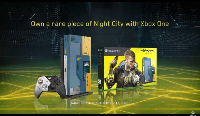 Yılın Beklenen Oyunu Cyberpunk 2077, Xbox One X'in Reklam Yüzü Oldu