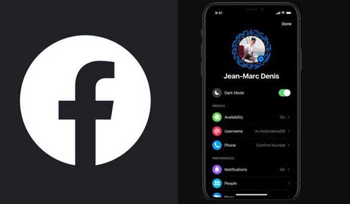 Facebook'un Mobil için Geliştirdiği Karanlık Mod Görüntüleri Ortaya Çıktı