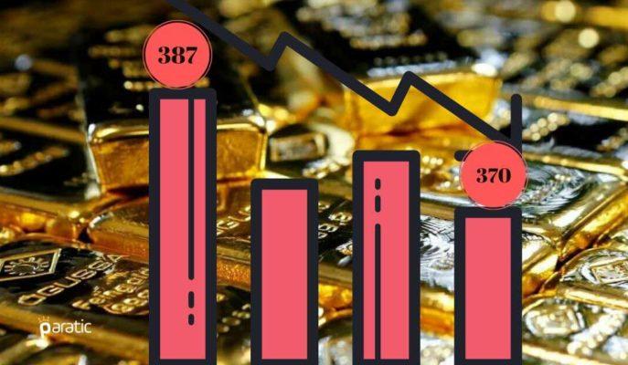 Gram Altın Rekor Seviyelerden Gerileyerek 370 Liraya İndi