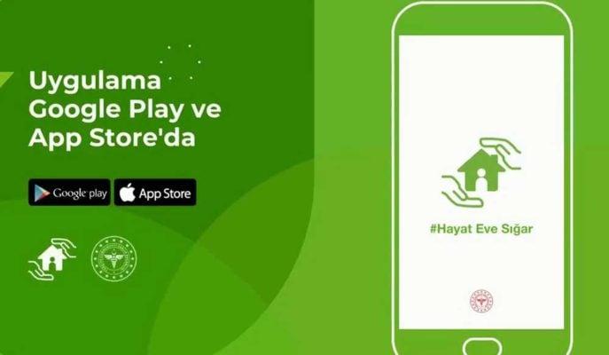 Sağlık Bakanlığı Tarafından Geliştirilen Hayat Eve Sığar Uygulaması Yayınlandı