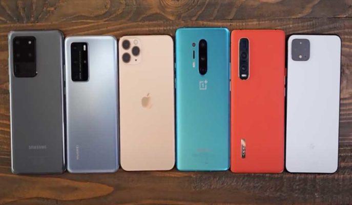 Huawei, Apple, Samsung ve OnePlus'ın En Güçlü Modelleri için Şarj Testi Yapıldı