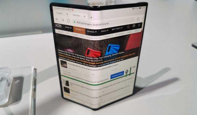 Huawei'nin Yeni Katlanabilir Telefonu Mate XS'in İç Yapısı Gösterildi