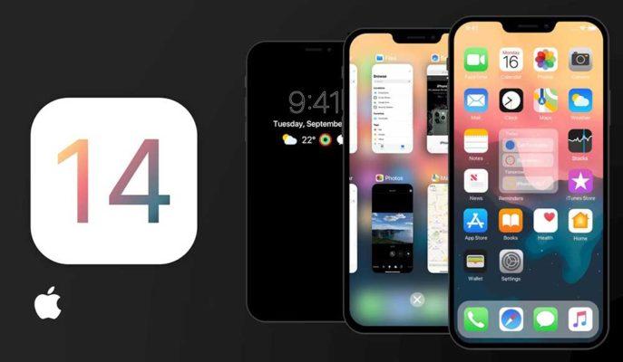 iOS 14 için Android Özelliklerinin Entegre Edildiği Bir Konsept Hazırlandı