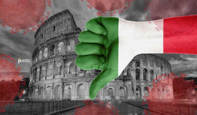 İtalya'nın %4,7'lik Daralması, 2009 Krizindeki Seviyeyi Aştı
