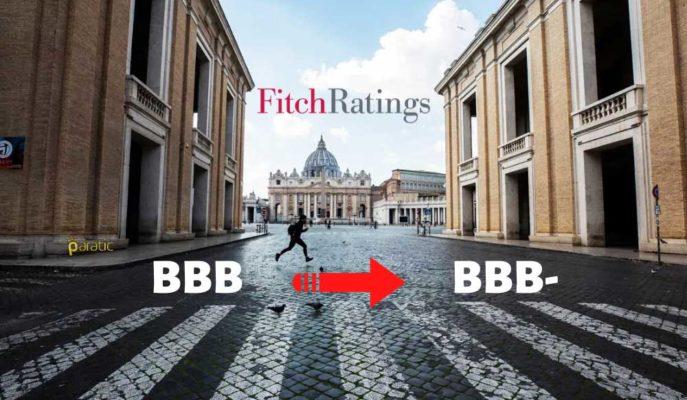 İtalya'nın Kredi Notu, Fitch Tarafından BBB-'ye Düşürüldü