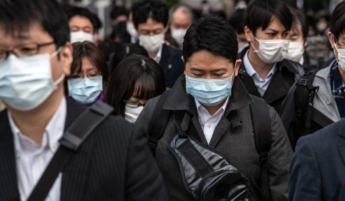 Japonya'da Koronavirüs Vakalarının Yoğun Olduğu Yerlerde 6 Mayıs'a Kadar OHAL İlan Edildi
