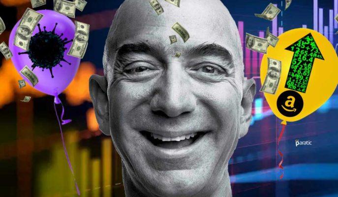 Jeff Bezos 2020'nin İlk 4 Ayında 30 Milyar Dolardan Fazla Kazandı