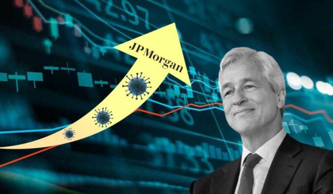 JP Morgan'ın İlk Çeyrek Kârında Koronavirüsün %69'luk Darbesi Görüldü