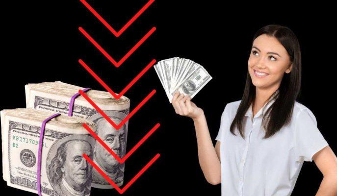 Kısa Süreli 7 Lirayı Aşan Dolar Kuru 6,94'e Çekildi