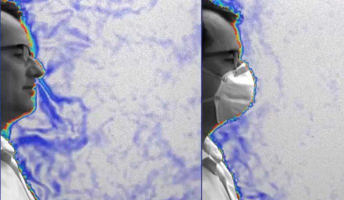 Corona Virüsüne Karşı Maske Kullanmanın Faydası Video ile Gösterildi