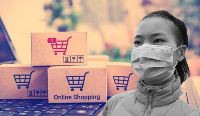 Pandemi Çin'de Perakendeyi Sert Vururken Online Satışları Yükseltiyor
