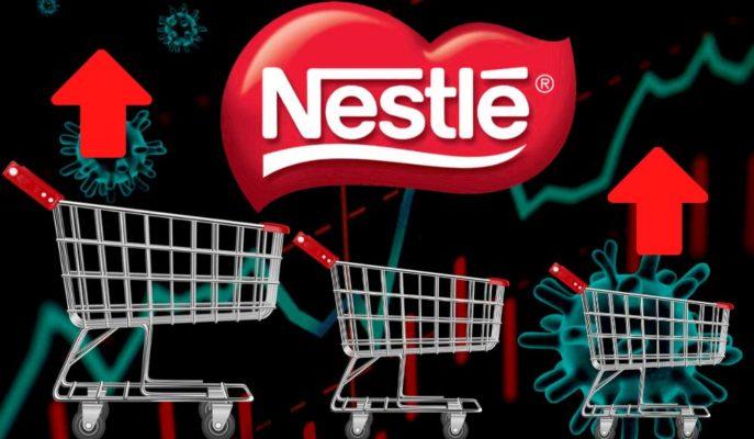 Pandemi Kaynaklı Tüketici Stoklamaları Nestle'yi Yükseltti