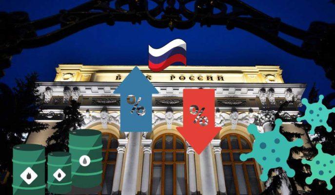 Rusya Merkez Bankası'ndan Yarım Puanlık Faiz İndirimi Bekleniyor