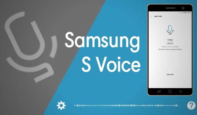 Samsung Eski Telefonlarındaki Asistan Uygulaması S Voice'u Kaldırıyor