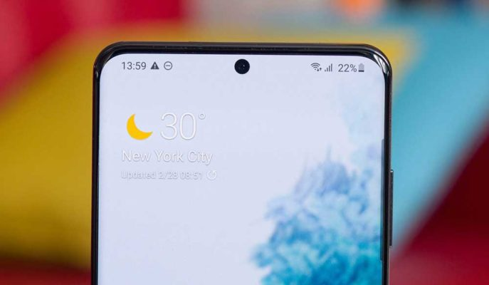 Samsung Galaxy S20 Ultra Modelinde Ekran Sorunu Tespit Edildi