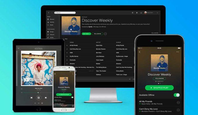 Spotify'da Çalma Listelerindeki Şarkılar Gizlenebilecek